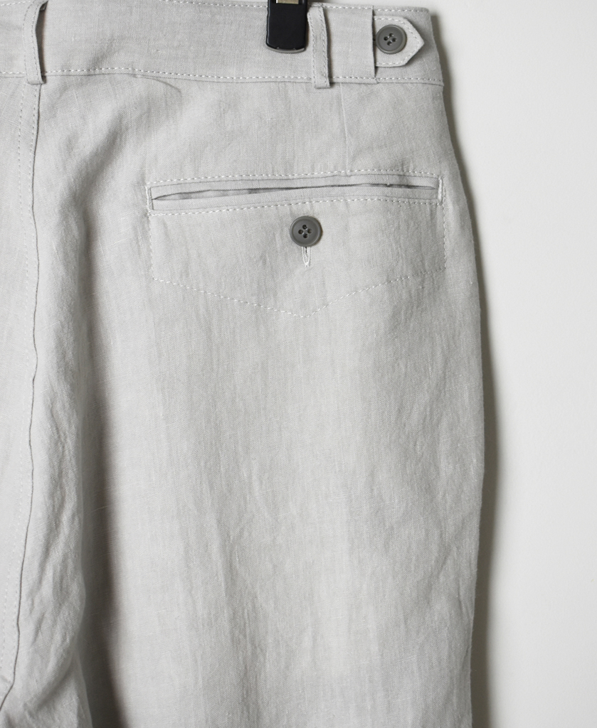GNMDS1501LP LINEN COMFORTABLE CROPPED PANTS