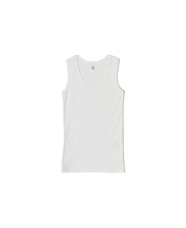 NMF1101 COTTON PLAIN U-NECK TANK TOP