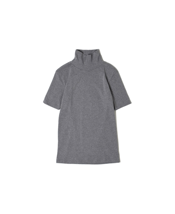 NMF1701 COTTON TURTLE-NECK 1/2 SL T-SHIRT