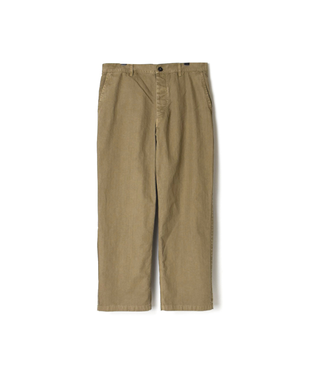 ADNAM2102 LIGHT HERRINGBONE (OVER DYE) CARPENTER PANTS