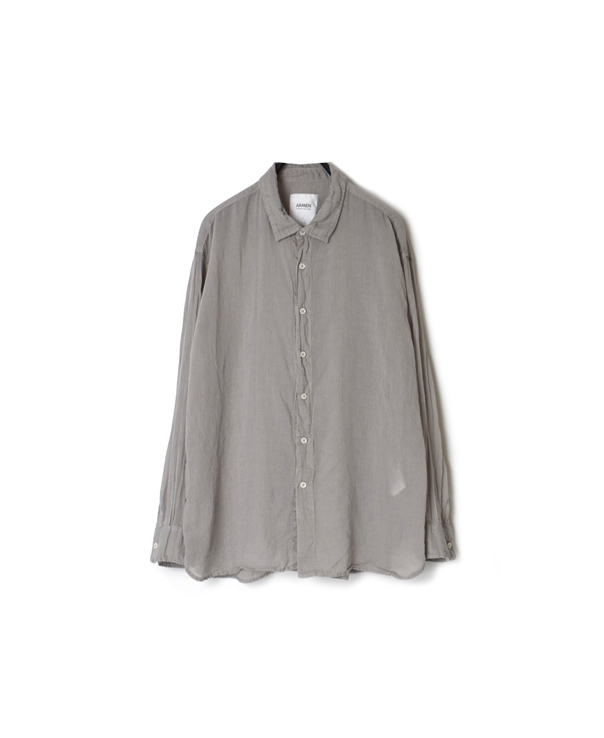 INAM1901GD GAUZE DYE UTILITY REGULAR COLLAR SHIRTS