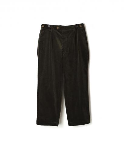 GNMDS1751CDS TROUSERS CROPPED PANTS - CORDUROY
