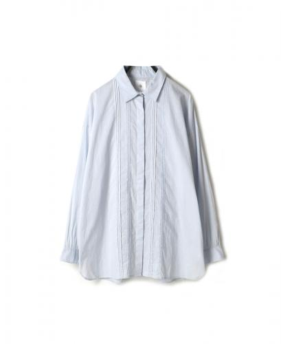 NMDS20062 ORGANIC CAMBRIC REGULAR COLLAR SHIRT