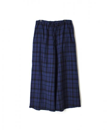 INHT1713MC MADRAS CHK OVERDYE EASY PANTS