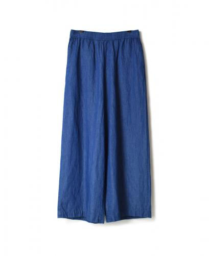 GNMDS2002CL COTTON LINEN EASY WIDE PANTS