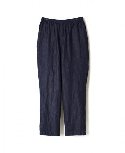 GNMDS2001CL COTTON LINEN EASY TAPERED PANTS