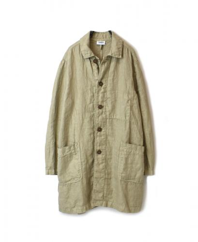 NAM1601LH LINEN HERRINGBONE AUTHENTIC WORK COAT