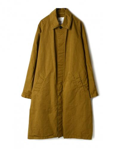 NHT2001CL COTTON LINEN BALMACAAN COAT