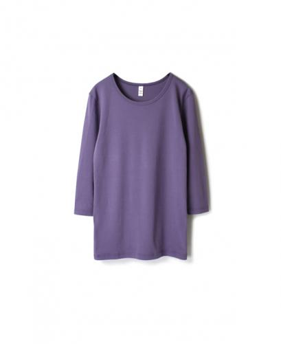 NMF1901 PLAIN CREW NECK 3/4 SL T-SHIRT