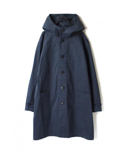 NAM1602CP COTTON AUTHENTIC HOODED COAT