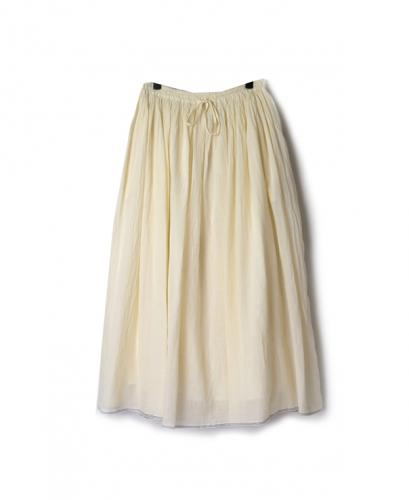 NSL20006 SUPER FINE VOILE  GATHERED SKIRT