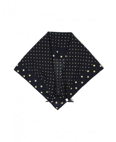 NSL20028 VOILE DOT TRIANGLE SCARF