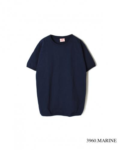 NGT9801 7.2oz CREW-NECK T WITH CUFF&HEM RIB