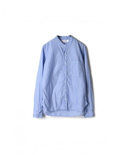 KBLS1002 BANDED COLLAR SHIRT