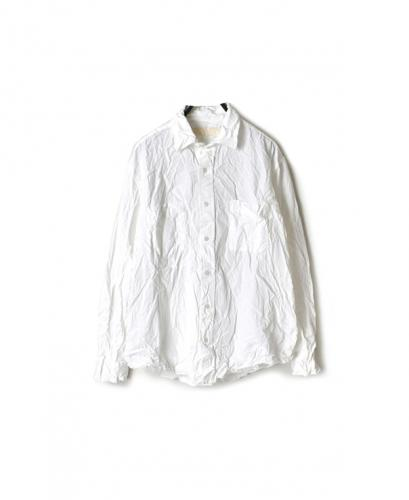 NVL1861W ORGANIC POPLIN REGULAR COLLAR L/SL SHIRT