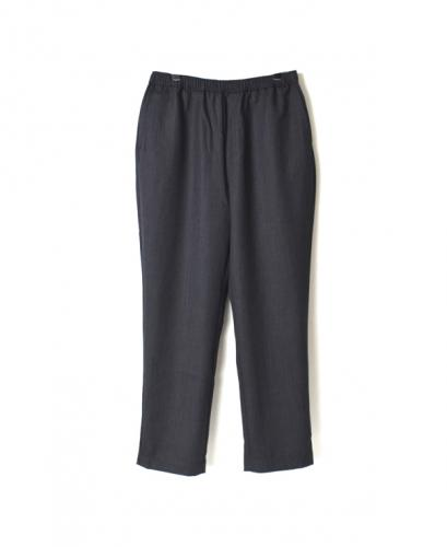 GNMDS2051 WOOL EASY TAPERED PANTS