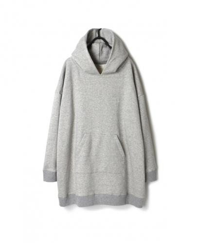 GNSL20532 PLAIN SWEAT HOODED PULLOVER