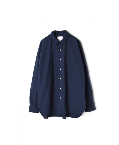 INAM1901PD 40'S POPLIN UTILITY REGULAR COLLAR SHIRT