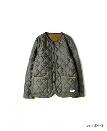 NAM1851 PLAIN HEAT QUILT NO COLLAR JKT