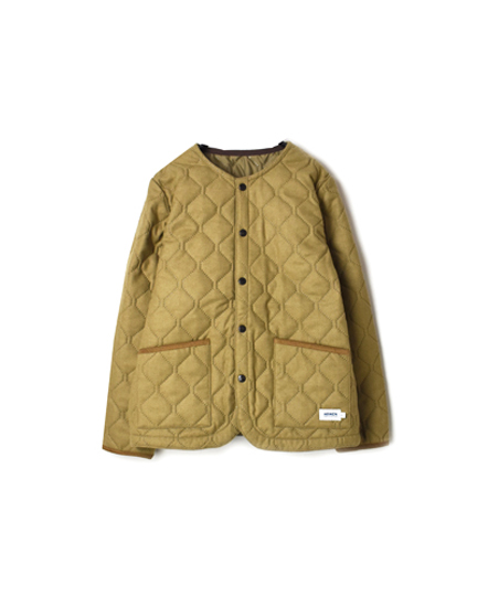 NAM1851WJ WOOL×POLYESTER HEAT QUILT  NO COLLAR JKT