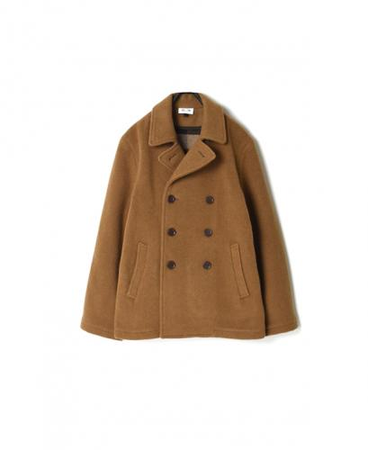 PNAM1651W DOUBLE FACE SHORT PEA COAT