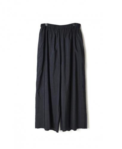 INMDS20735 WOOL / SILK PLAIN EASY PANTS