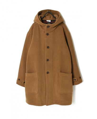 PNAM1652W DOUBLE FACE HOODED COAT