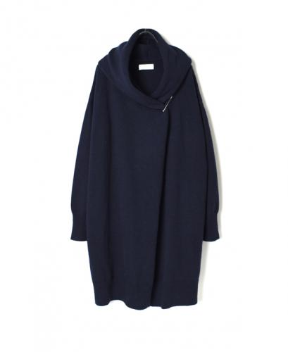 GNSL20503 COTOSWOLDS HOODED LONG CARDIGAN