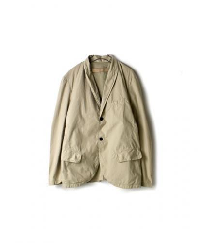 NVL1301D ORGANIC POPLIN  SIDE VENT TAILORED JACKET
