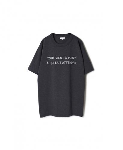 "NFA1802P27 ""TOUT"" COTTON JERSEY CREW NECK OVERSIZED S/SL T"
