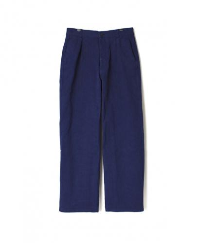 NAM1203DH HEAVY WEIGHT HERRINGBONE ONE-TUCK PANTS