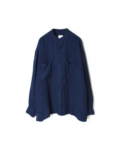 MDSH2101LD 80'S POWER LOOM LINEN PLAIN (DYED) JACKET