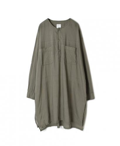 IMDSH2012CD 100'S KHADI LONG PULLOVER SHIRT