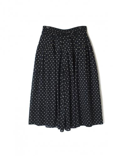 NSL21025 COTTON VOILE DOT PRINT CULOTTES